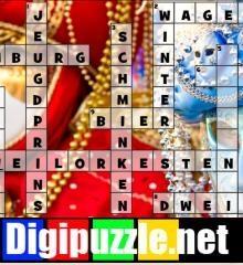 carnaval-kruiswoordpuzzel