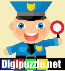 politieman-aankleedspel