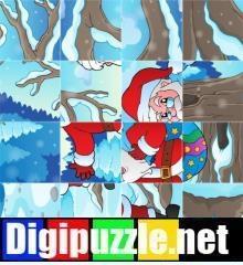 kerst-foto-draaipuzzel