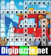 winter-kruiswoordpuzzel