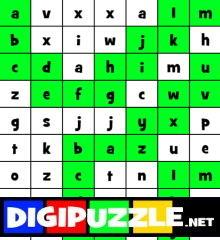 Alfabet Doolhof